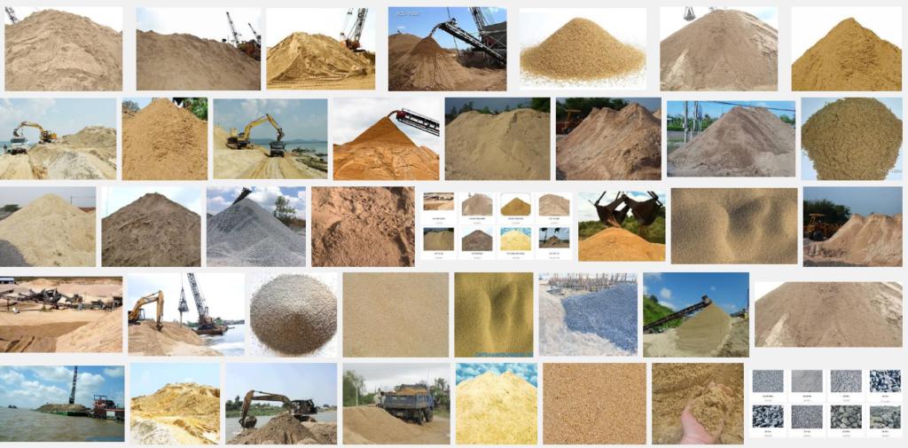 Bảng báo giá cát xây dựnggiá rẻ