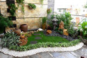 Dịch vụ thi công tiểu cảnh sân vườn đẹp, hợp phong thủy ngôi nhà